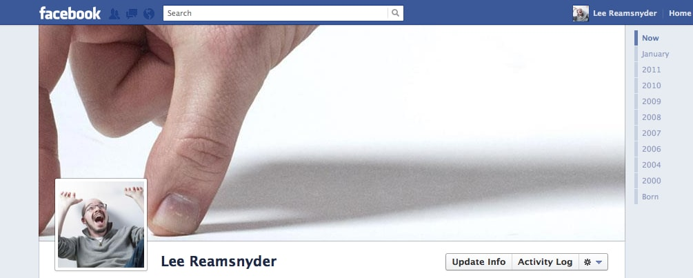 My facebook timeline cover picture