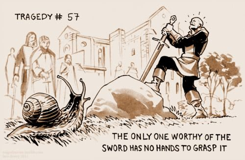 sword and the snail
