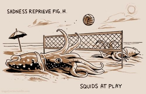 squids at play