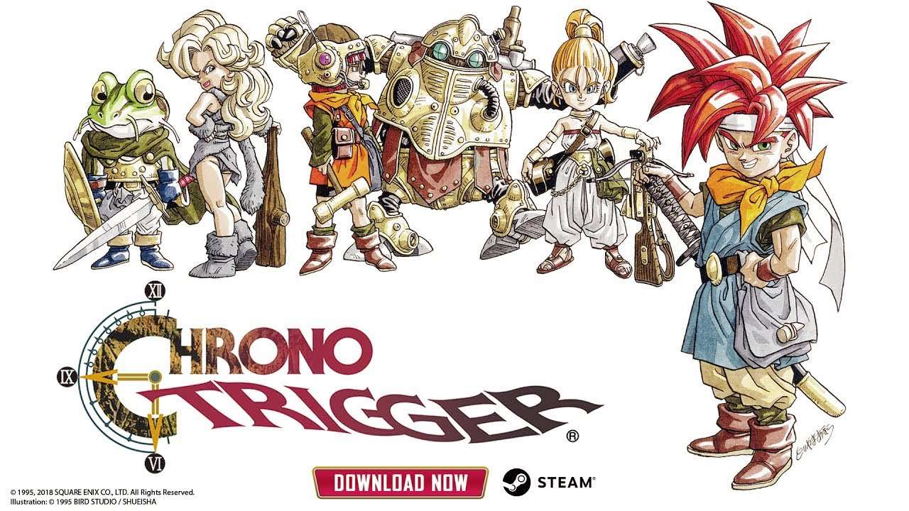 All of the characters from the video game Chrono Trigger